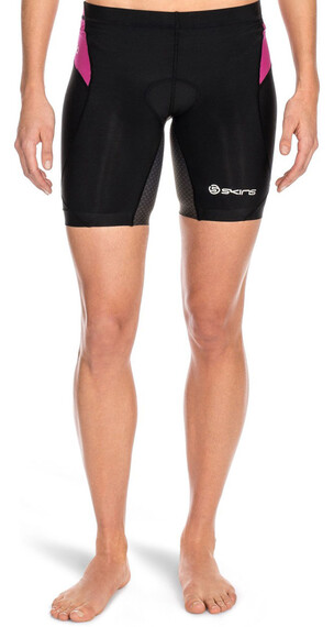Skins W's Tri400 Shorts Black/Orchid